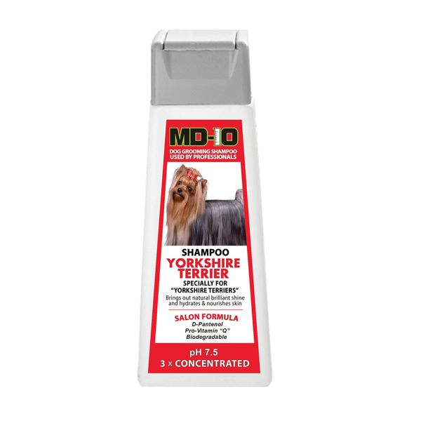 Md10 Yorkshire Terrier Shampoo 300ml 1 2 Litre Diluted